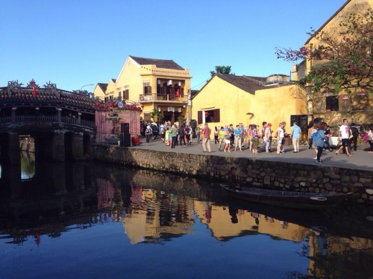 Hoi An, where light festival takes place