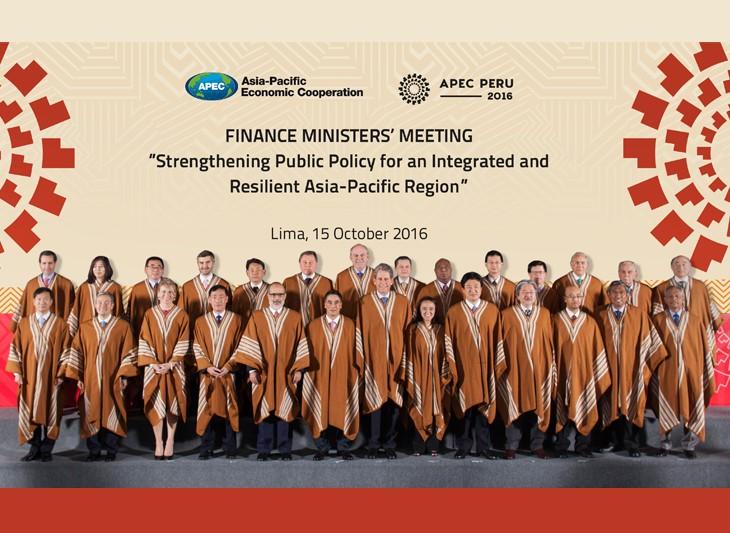 APEC Finance Ministers' Meeting 2016 in Lima, Peru (apec.org)