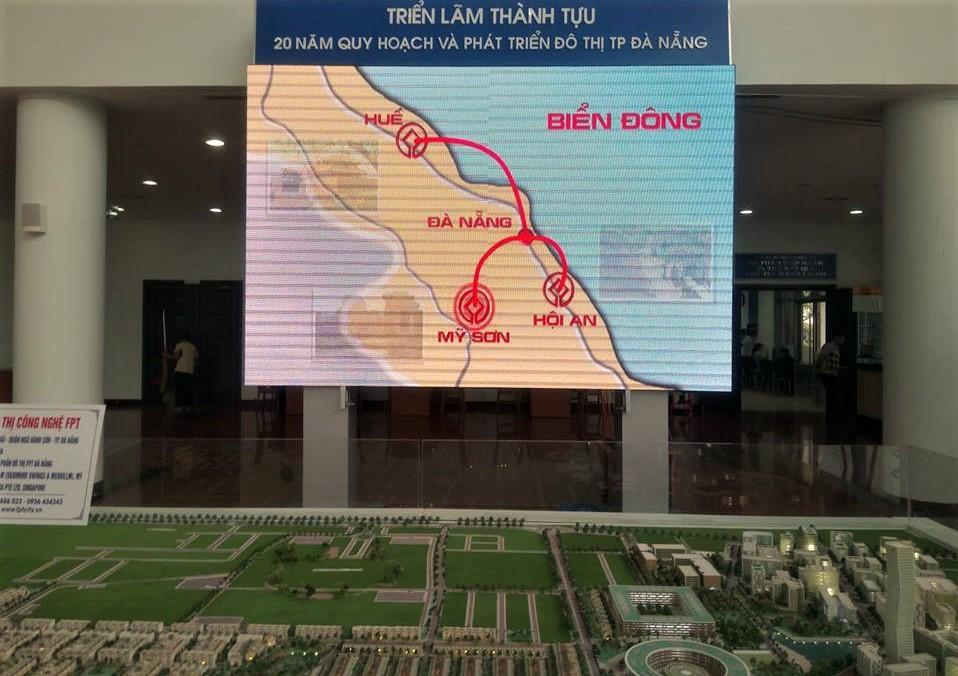 Đà Nẵng luôn chú trọng việc quy hoạch kết nối với các điểm đến di sản trong khu vực miền Trung. Ảnh: Q.T