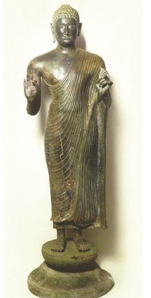 Tượng Phật Đồng Dương.