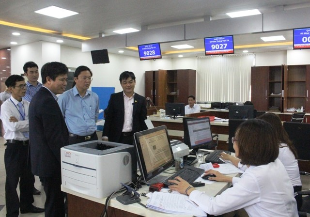 Leaders of Quang Nam province visit and check the PAIPC's operation