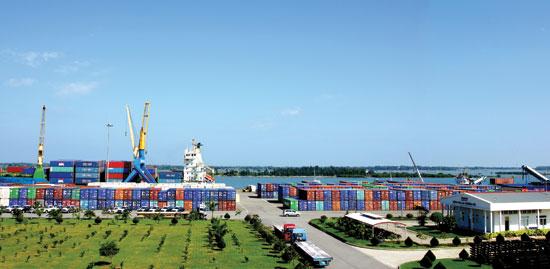 Cảng Chu Lai - Trường Hải.Ảnh: PHƯƠNG THẢO