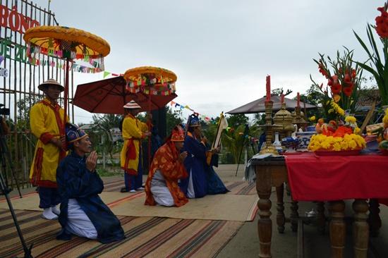 Lễ hội mang đậm những giá trị văn hóa tâm linh sâu sắc
