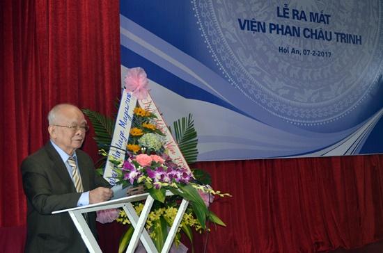Nhà văn Nguyên Ngọc được đầu làm Viện trưởng Viện Phan Châu Trinh