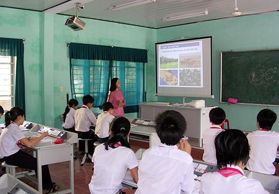 Tuyển dụng viên chức giáo dục đợt này nhằm bổ sung đội ngũ giáo viên cho các trường. Ảnh: X.PHÚ