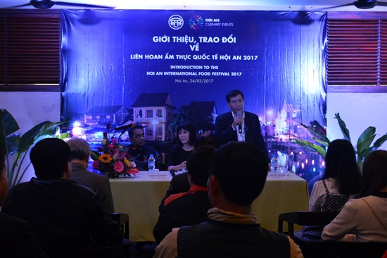 Overview of the press conference of Hoi An International Food Festival 2017