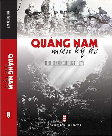 """Bìa tập sách """"Quảng Nam - Miền ký ức"""" (1954-1975)."""