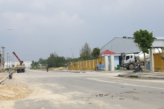 Một số dự án đầu tư tại CCN An Lưu. Ảnh: T.DŨNG