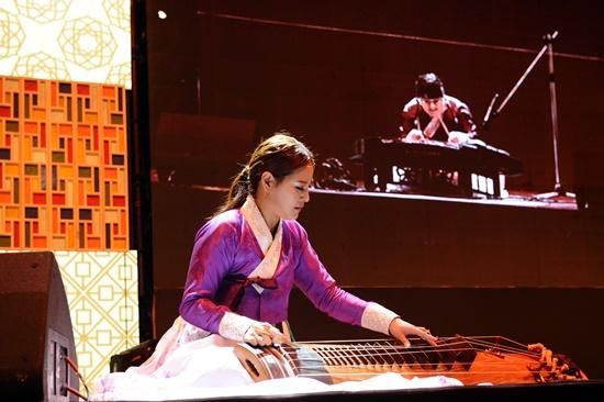 Trình diễn âm nhạc truyền thống Hàn Quốc