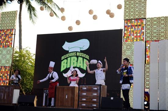 Nhiều hoạt động văn hóa Hà Quốc đã diễn ra tại lễ hội