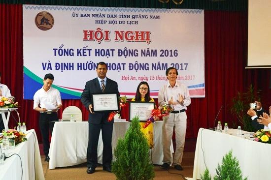 Kết nạp hội viên mới cho Hiệp hội du lịch Quảng Nam
