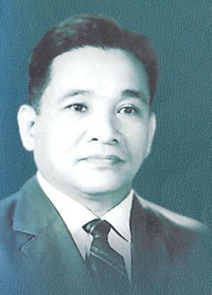 Chân dung Trương Chí Cương.