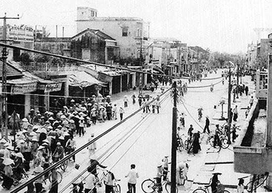 Giải phóng Quảng Nam.  Ảnh: Tư liệu