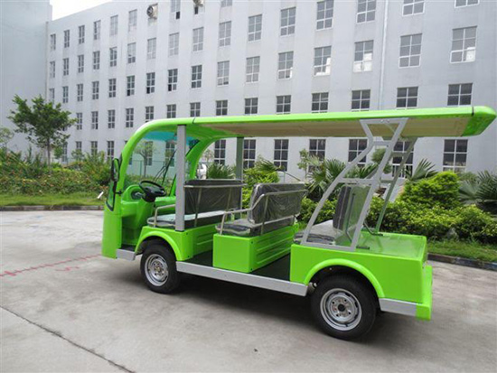 Electric cars introduced as means of transportation in Hoi An