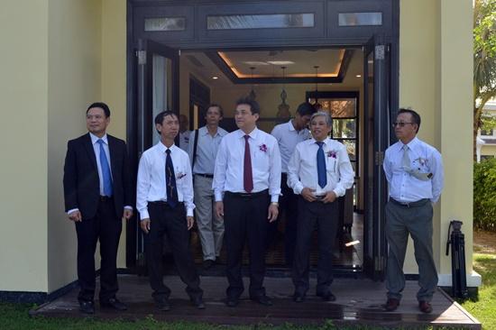 Phó Bí thư Thường trực Tỉnh ủy Phan Việt Cường tham quan Khu nghỉ dưỡng KOI