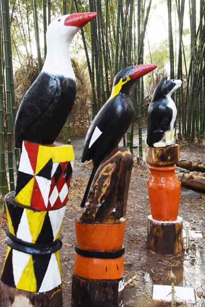 Tác phẩm điêu khắc gỗ của nghệ nhân Quảng Nam đoạt giải khuyến khích.