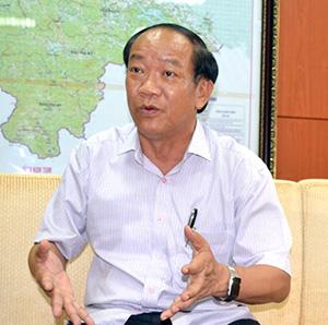 Chủ tịch UBND tỉnh Đinh Văn Thu.