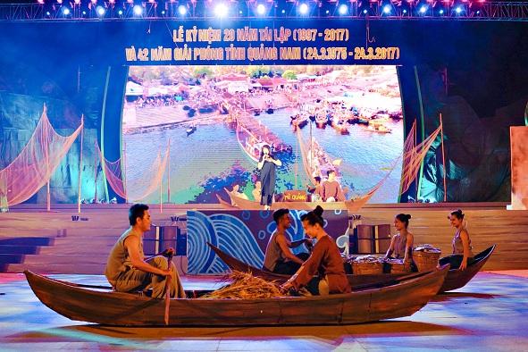 tái hiện đời sống ngư dân xứ Quảng tại chương trình nghệ thuật