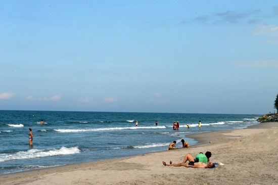 Bờ biển Cửa Đại đã được phục hồi