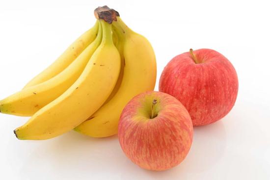 Chuối, táo giúp tăng lợi khuẩn đường ruột