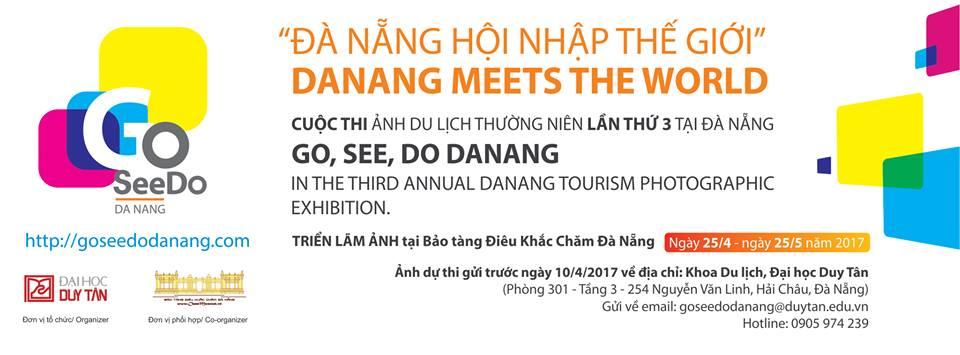 Banner của cuộc thi. Ảnh: Trường ĐH Duy Tân