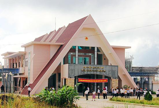 Một góc Khu kinh tế cửa khẩu Nam Giang. Ảnh: T.D