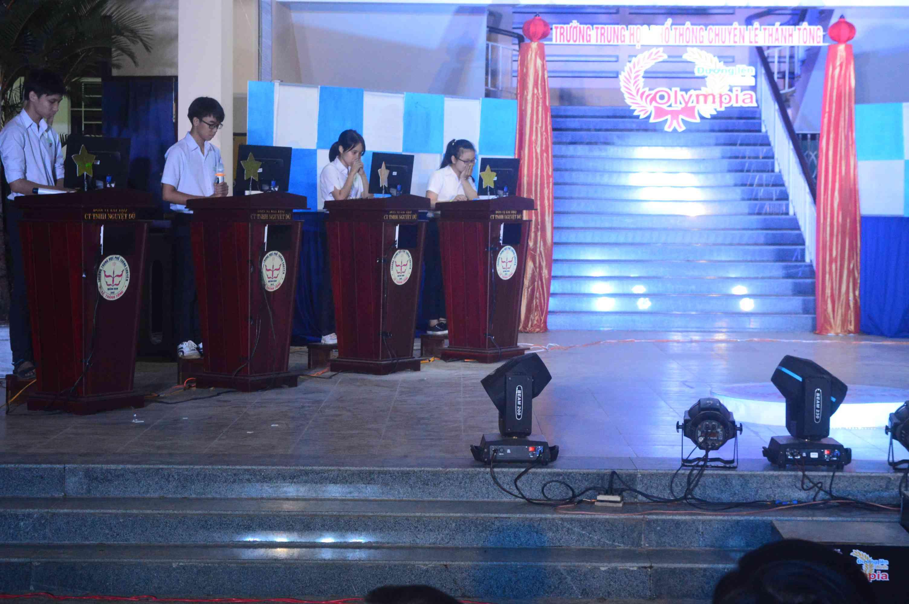 Các thí sinh sẽ trải qua các vòng thi tương tự như cuộc thi Đường lên đỉnh Olympia do Đài Truyền hình Việt Nam tổ chức. Ảnh: Q.T