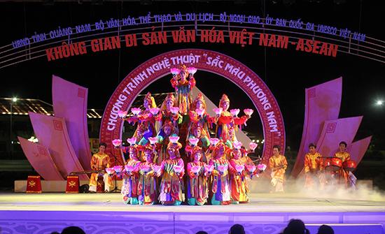 Festival Di sản Quảng Nam lần VI được kỳ vọng là cơ hội thúc đẩy phát triển du lịch Quảng Nam.  Trong ảnh: Một trong những hoạt động của Festival Di sản Quảng Nam lần trước đây.