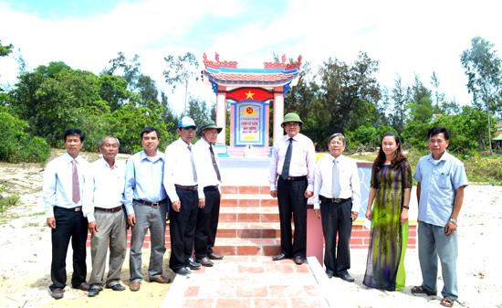 Di tích Căn cứ lõm Bàu Bính nhắc nhớ thời oanh liệt chiến đấu của LLVT nhân dân Thăng Bình.