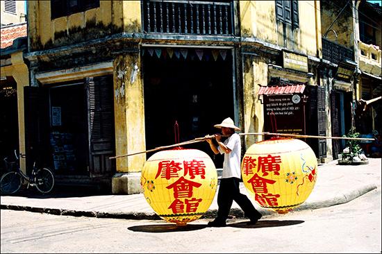 """Bức ảnh """"Hội An trong ký ức"""" của Dương Phú Tâm."""