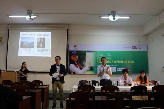 Nhiều hoạt động chuyên môn cũng đã diễn ra trong Ngày hội Hướng nghiệp du lịch Đà Nẵng