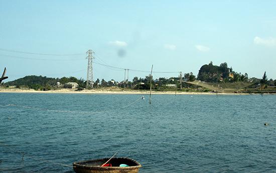 Làng Nam Ô, làng Xuân Dương bên cửa sông Cu Đê.Ảnh: V.HÙNG