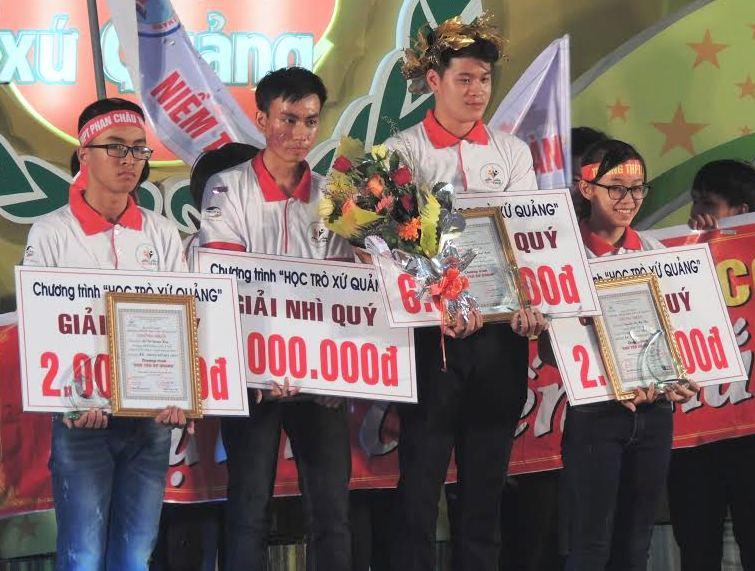 Các thí sinh tham gia vòng chung kết quý I
