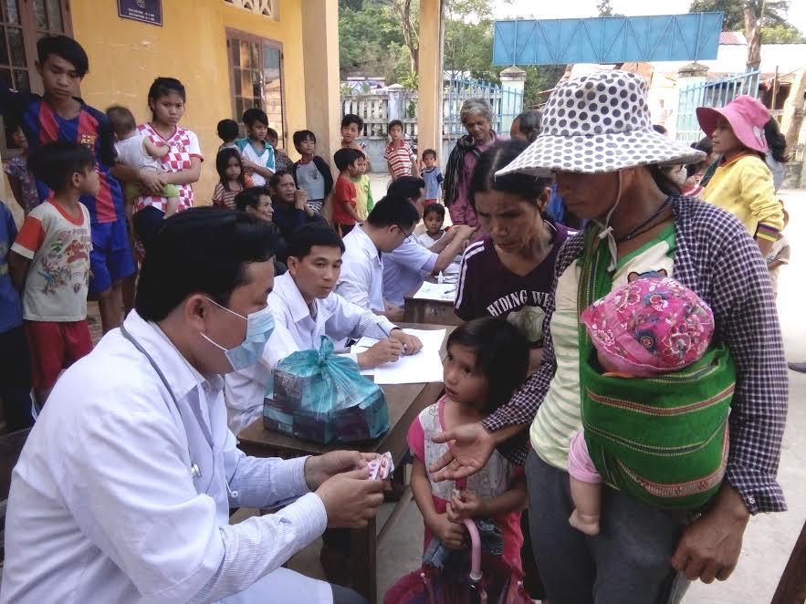 Dự án Quỹ toàn cầu Phòng chống sốt rét hỗ trợ Quảng Nam phòng chống sốt rét dựa vào cộng đồng.