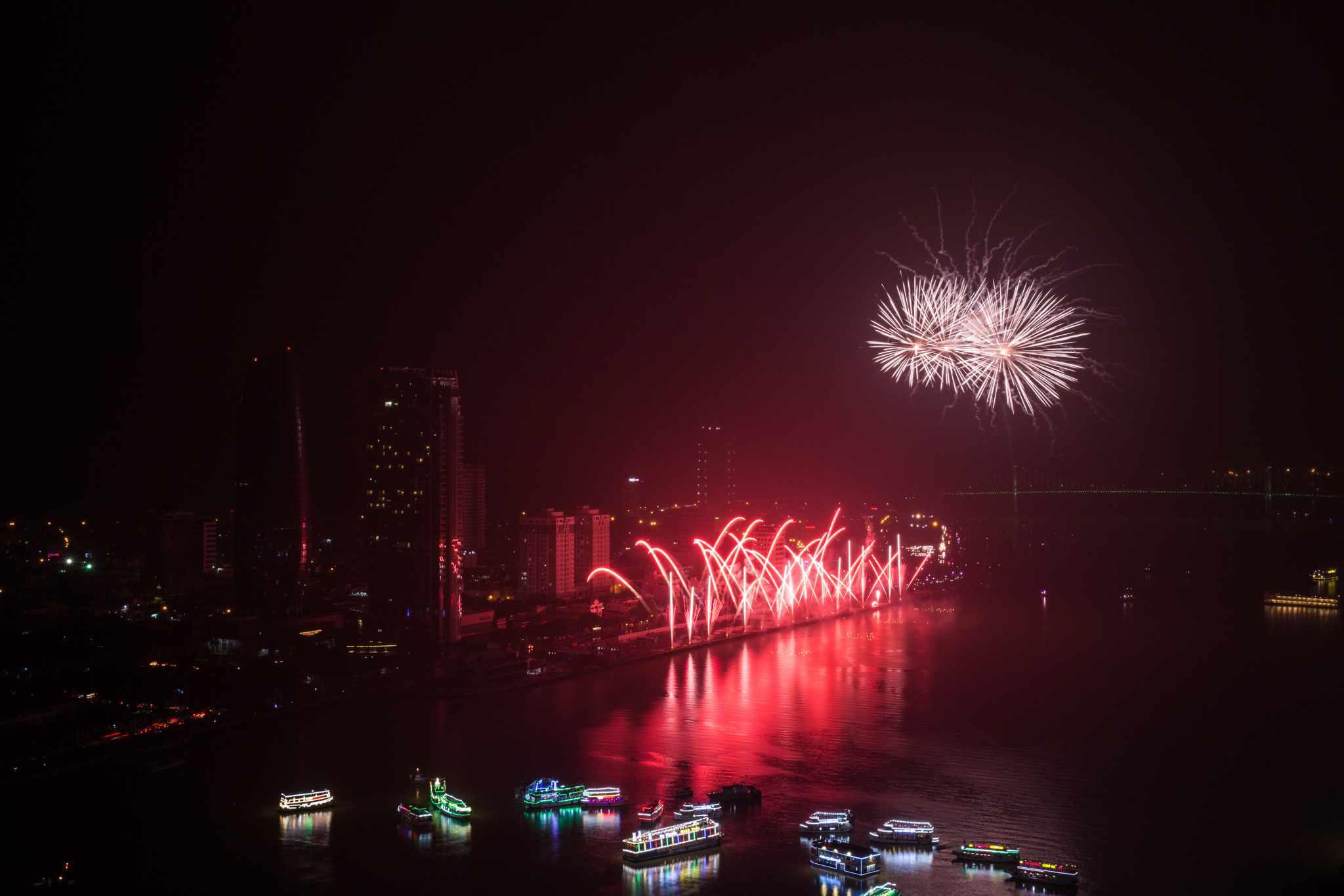 Màn trình diễn từng giúp đại diện của nước Úc vô địch cuộc thi pháo hoa quốc tế Đà Nẵng năm 2015. Ảnh: BTC cung cấp