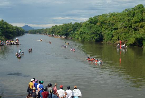 Dòng sông Vĩnh Điện sẽ là điểm nhấn trong xây dựng bản sắc đô thị Điện Bàn. Ảnh: VĨNH LỘC