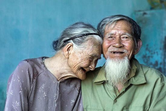 Bức ảnh Vợ chồng già khá nổi tiếng của nhiếp ảnh gia Réhahn