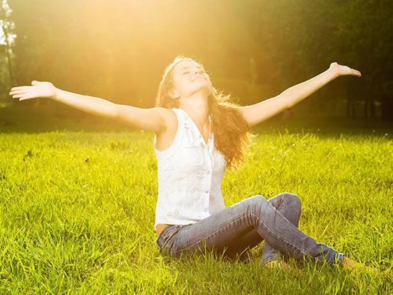 Ánh nắng mặt trời giúp giảm trầm cảm