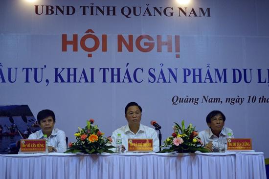 Phó chủ tịch UBND tỉnh Lê Trí Thanh chủ trì Hội nghị