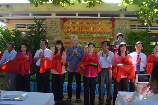 Inaugural ceremony of Triem Tay community-based tourism village