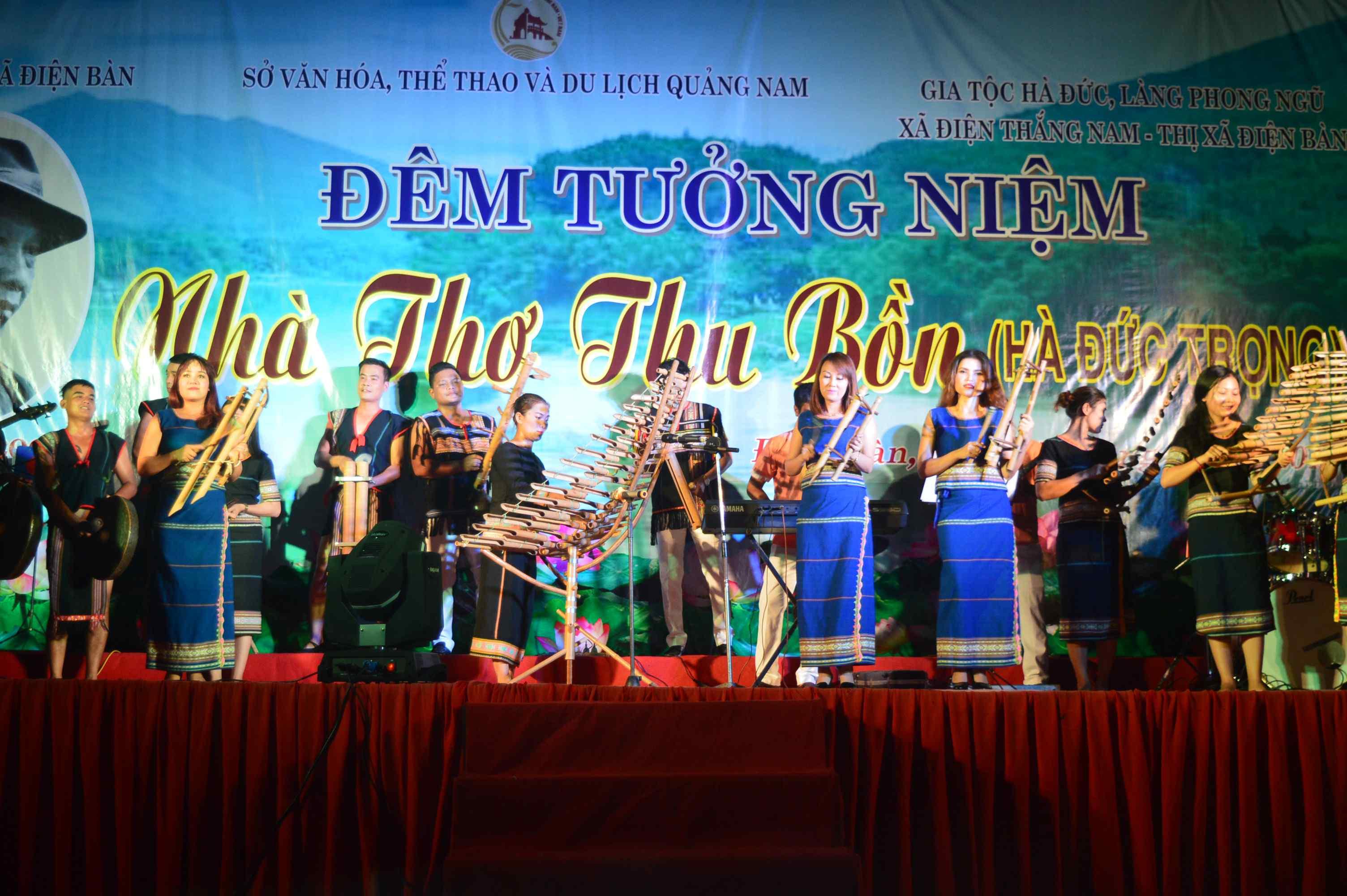 Một tiết mục văn nghệ của Đoàn nghệ thuật tỉnh Kon Tum. Ảnh: Q.T