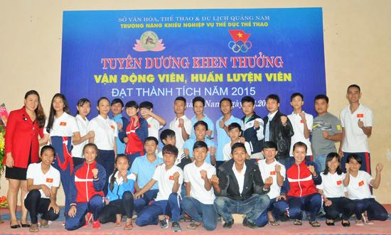 Đội tuyển Karatedo của tỉnh có nhiều gương mặt trẻ tài năng.Ảnh: T.VY