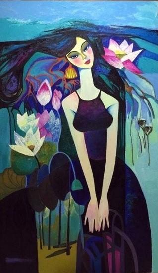67 tác phẩm của 23 họa sỹ nữ đã được trưng bày, giới thiệu đến người xem tai Triển lãm lần này