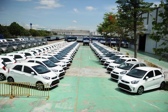 Dòng xe du lịch của Thaco hiện được thị trường ưa chuộn. Ảnh: MINH HẢI