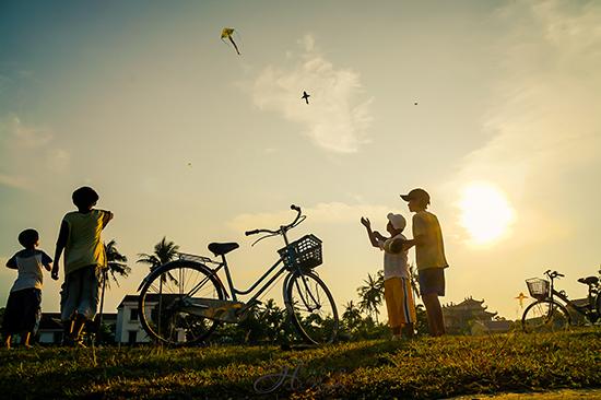 Những cánh diều bay cao ở Thăng Bình.