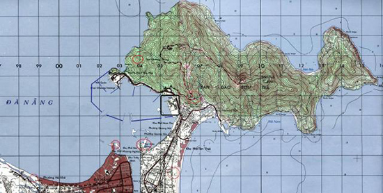Bản đồ thời Mỹ.