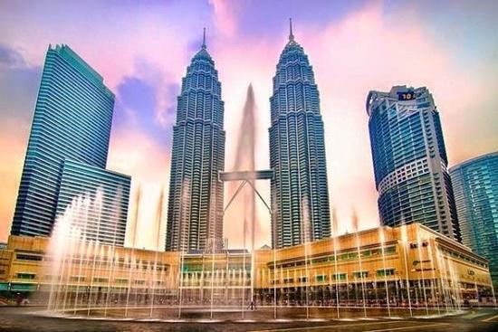 Tháp đôi Petronas Malaysia.