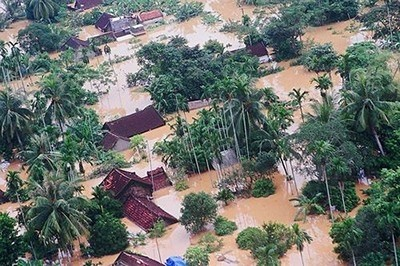 Natural disasters (illustrating photo extracted from vpcp.chinhphu.vn)