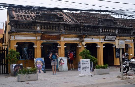 Trên tuyến đường Phan Bội Châu hiện có nhiều bảo tàng  nghệ thuật