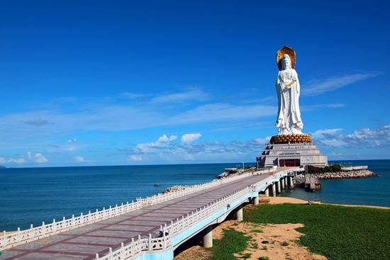Hải Nam có rất nhiều cảnh đẹp